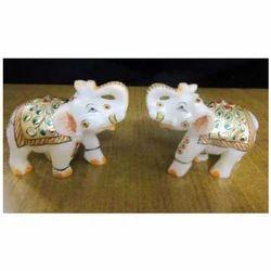 Elephant Pair 9x9 Inch