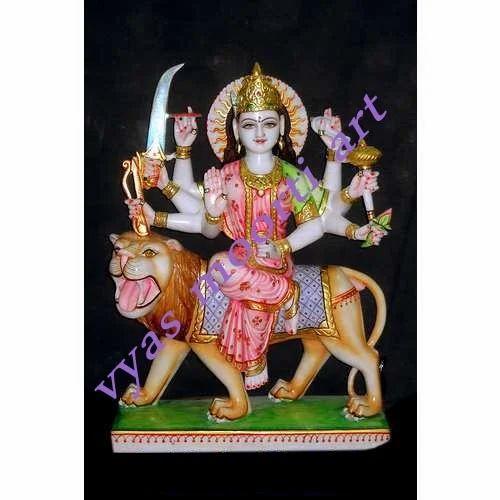 0d18e86abb1 Durga Mata Marble Statues - Marble Durga Mata Idol Manufacturer from Jaipur