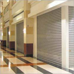Full Height Push Type Rolling Shutters