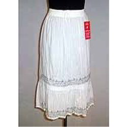 White Ladies Skirt