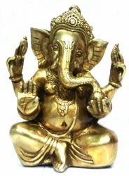 Brass Laddo Ganesh