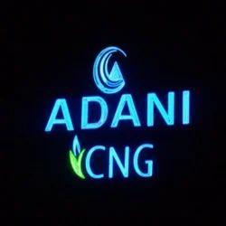 Neon Signboard Hoarding
