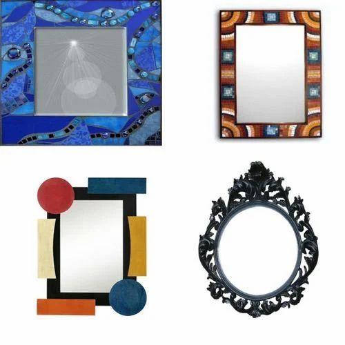 Decorating Mirror Frame, Glass Mirrors & Frames | Bhram Puri ...