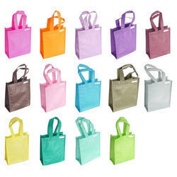 Colored Loop Handle Bags