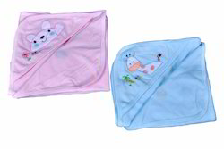 offspring Cotton Hooded Towel Wrap