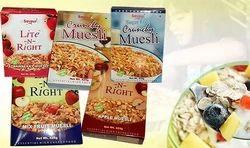 Muesli, Flakes, Organic