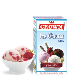 CROWN Ice Cream Mix, Box
