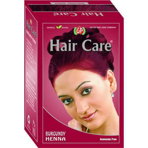 Burgundy Henna Hair Color