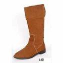 Shineless Ladies Leather Boot