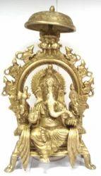 Brass Chatra Ganesh
