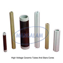 High Voltage Ceramic Tubes And Star Cores