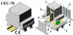 Din Rail Module Enclosure 112x88x75