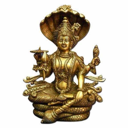 Vishnu Brass Statue At Rs 2500 Pieces Brass God Statues