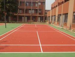 10 Mm Outdoor Badminton Court Flooring