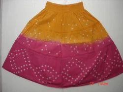 Standard Cotton Short Skirt, Size: XL