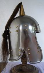 Charioteer Helmet In Steel