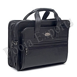 Leather Office Portfolios Laptop Bag