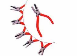 black jack Mild Steel Miniature Pliers 6 Pcs. Set - Combination, Side Cutting, For Industrial