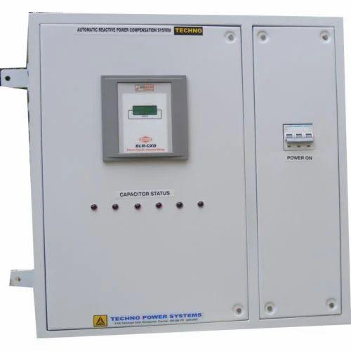 40 kvar apfc panel, kvar capacitor techno power systems, chennai control panel assembly 40 kvar apfc panel