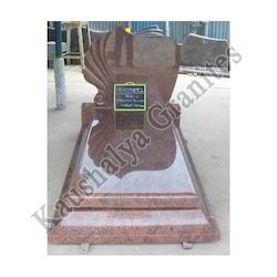 Red Multicolor Granite Monuments