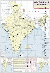 May Weather Map Of India