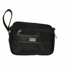 Handbags Polyester President Black Multi Utility Hand Bag
