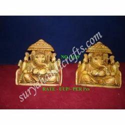 Resin Sinhasan Ganesh Ji
