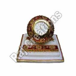 Marble Designer Clock