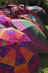 Embroidered Handmade Umbrellas
