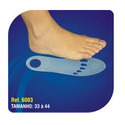 Silicone Insole with Blue Point