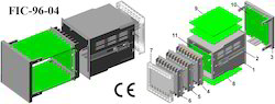 Digital Panel Meter Enclosure Futura DIN 96x96x110