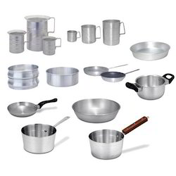 Stainless Steel Aluminum Cookware, for Kitchen