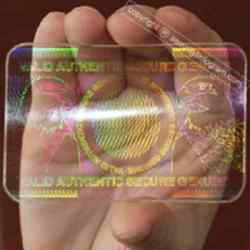 Transparent ID Hologram