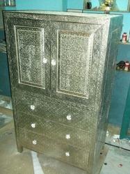 White Metal Almirah