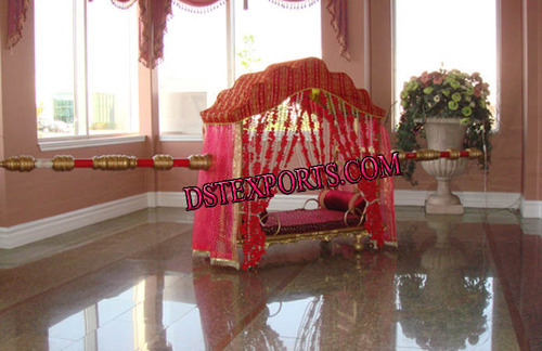 Indian wedding doli and palkis latest wedding crystal lotus doli indian wedding doli and palkis latest wedding crystal lotus doli exporter from patiala junglespirit Images