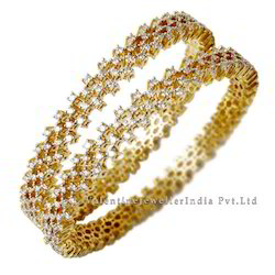 Diamond Indian Bangles