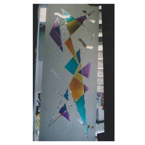 Colour Etching Glass Work in Sector 11, Panchkula | ID ...