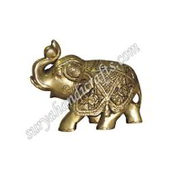 Brass Antic Elephant