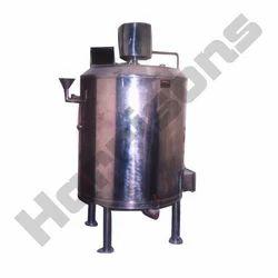 Juicer Mixer Tank With Heating Arrangement
