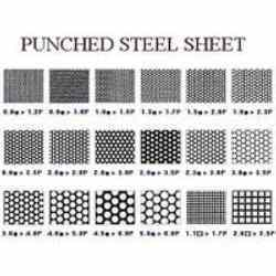 Punched Steel Sheets