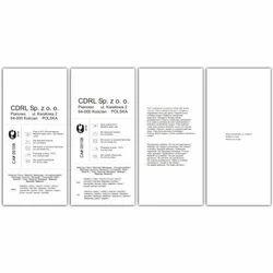 Paper Composition Label