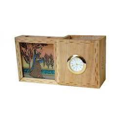 Natural Wood Wooden Card Holders, For Home