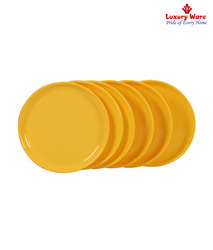 Yellow Full Plate Round
