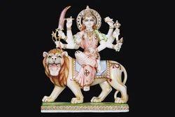 DU-0005 Marble Durga Idols