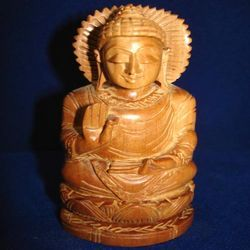 Sandalwood Blessing Buddha