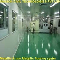 Metallic and Non-Metallic Hardened Flooring