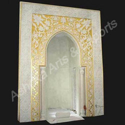 Marble Gold Work Arch