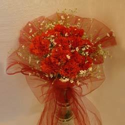 Warmth of Heart Designer Packing Bouquet