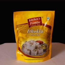 Dhokla Packaging Stand Up Pouch