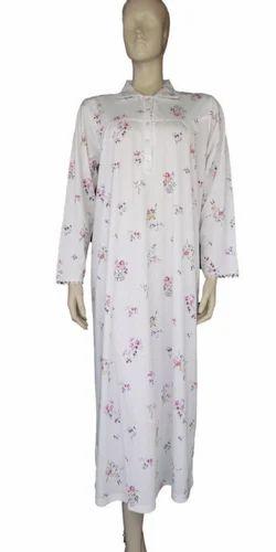 1d85604091 Ladies Nighty - Long Sleeve Nighty Exporter from New Delhi